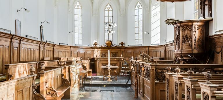 Interieur Mariakerk Mantgum
